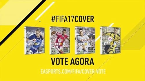 Fifa 2017 - Você pode escolher a capa do game
