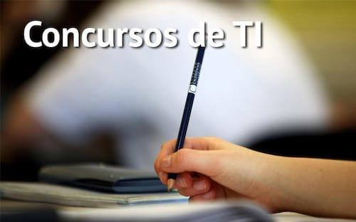 Concursos abertos para profissionais de TI