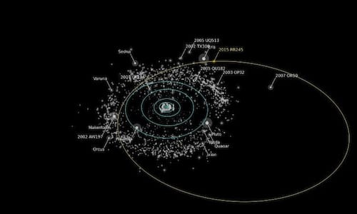 Astrônomos descobrem planeta anão feito de gelo