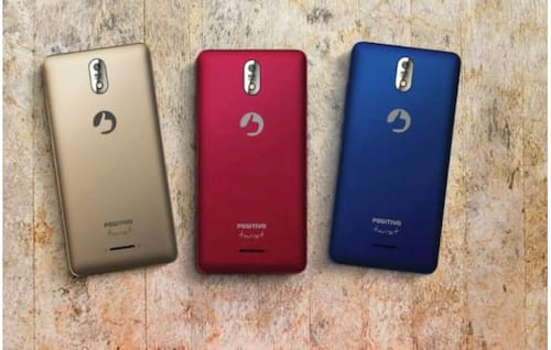Positivo anuncia três novos smartphones de baixo custo