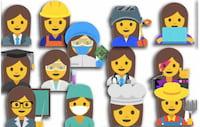Novos emojis apresentam mulheres e suas profissões