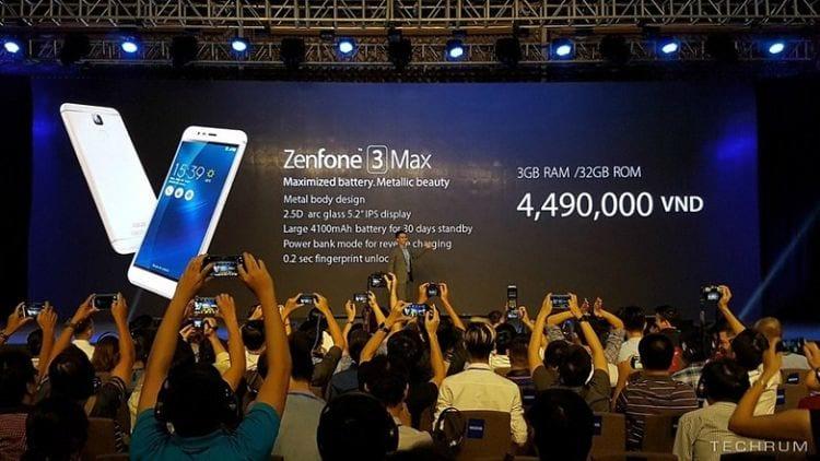 ASUS revela novos Zenfone 3 Laser e Max