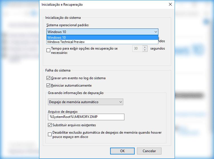 Como alterar a ordem de boot?