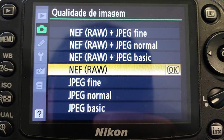 RAW, JPEG, TIFF, GIF e PNG - Quais são as diferenças