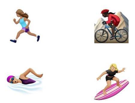 Versões femininas dos emojis serão incorporadas a nova versão do sistema operacional da Apple.