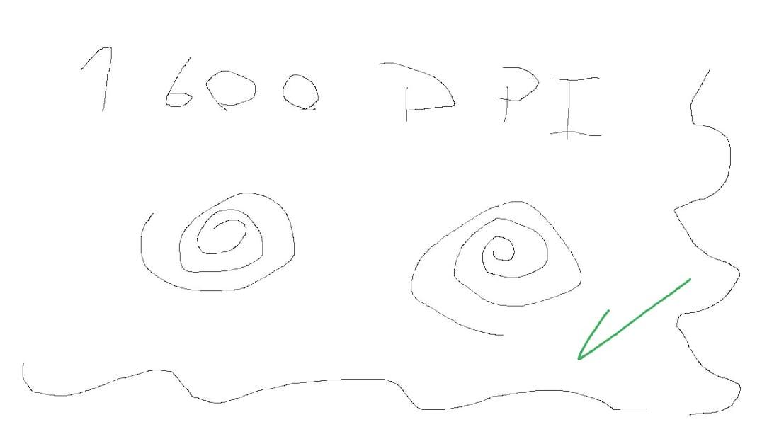 Excelente Rastreio em 1600 DPIs