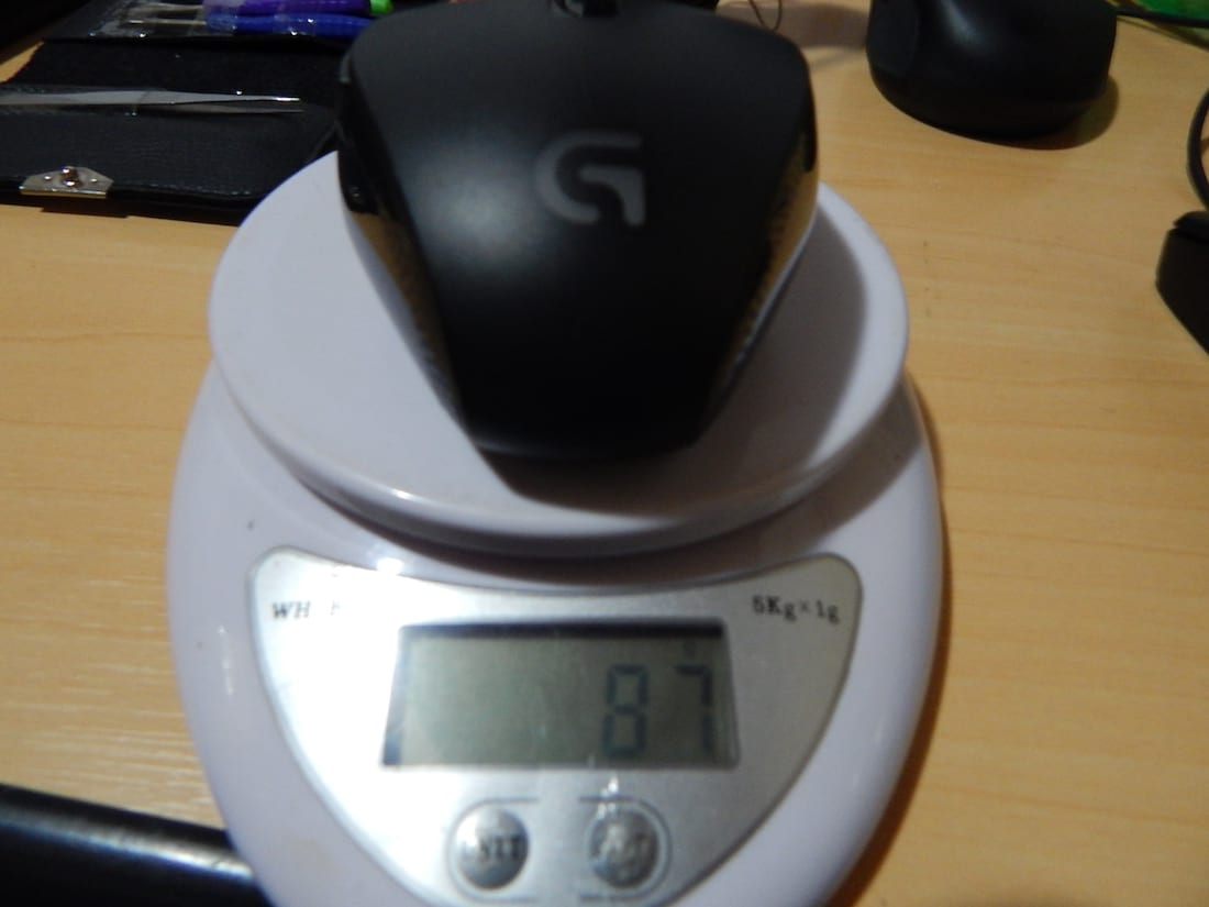 Peso Logitech G302