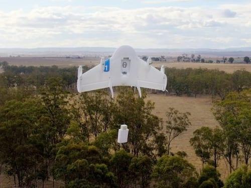 Google recebe autorização para testar drones