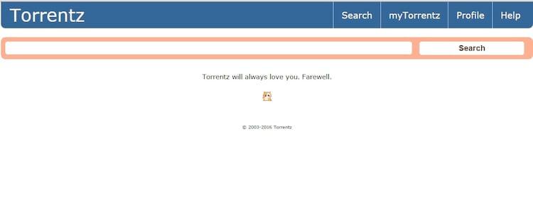 O buscador Torrentz.eu foi desativado