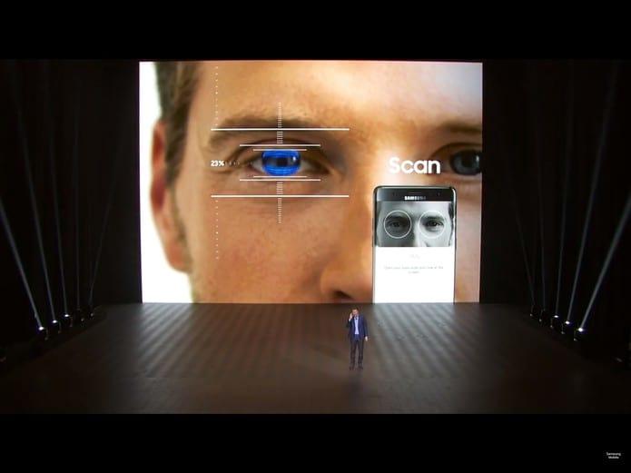 O que é scanner de íris?