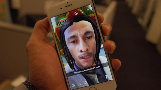 Filtro que também causou bastante polêmica foi o do Bob Marley. Snapchat, ao que tudo indica, não aprendeu a lição!