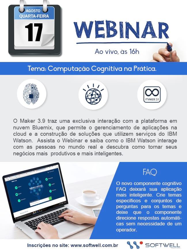 Webinar Maker 3.9 - Computação cognitiva na prática