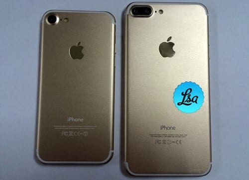 Fotos do iPhone 7 vazam na internet