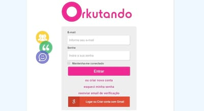 Conhe�a o clone do Orkut, o Orkutando