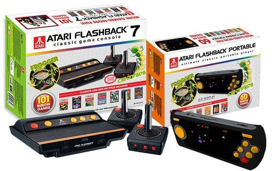 Console baseado no Atari virá com 101 jogos