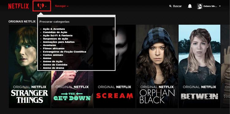 Brasileiros criam extensão que permite encontrar categorias secretas na Netflix