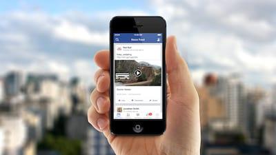 Facebook inicia os testes de v�deos que rodam sozinhos com �udio ligado