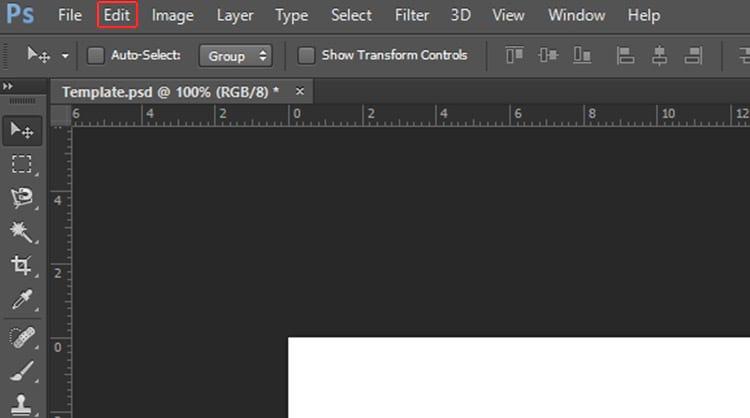 Como corrigir o bug de orientação do Photoshop?