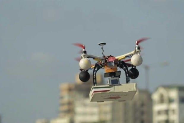 Entrega de pizza em SP poderá ser feita através de drone