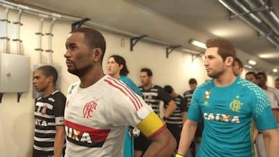 PES 2017 contar� com o Campeonato Brasileiro