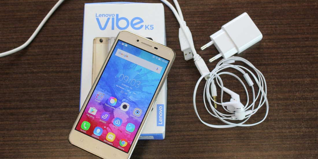 Review Lenovo Vibe K5