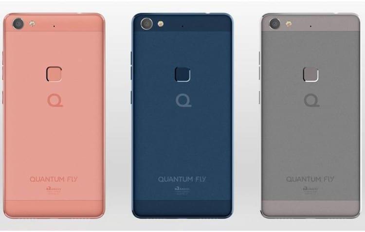 Smartphone da Quantum chega com leitor de digitais