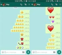 Versão beta do WhatsApp chega com emojis gigantes