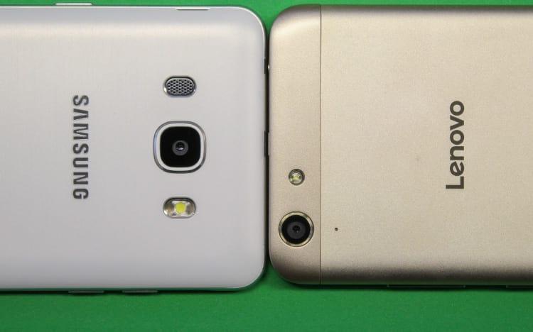 Samsung Galaxy J5 Metal x Lenovo Vibe K5 - Qual é melhor?