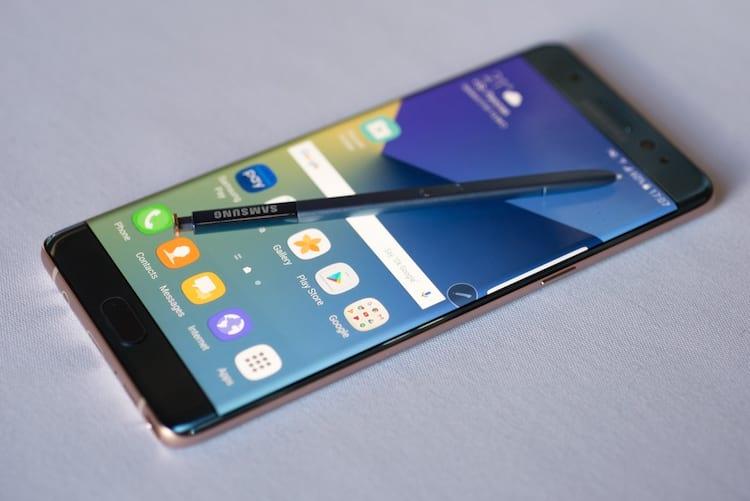 Samsung anunciou o recall do produto e suspensão das vendas.