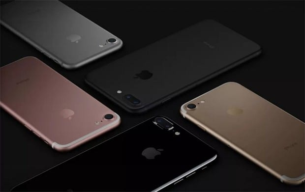 Vendas do iPhone 7 estão em alta. Alta nas ações é reflexo do bom momento da Apple.