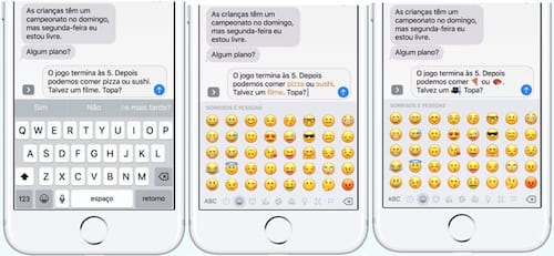 Como utilizar o recurso que substitui palavras por emoticon no iOS 10 - iPhone e iPad