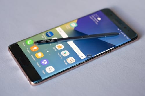 Venda do Galaxy Note 7 se torna ilegal nos Estados Unidos