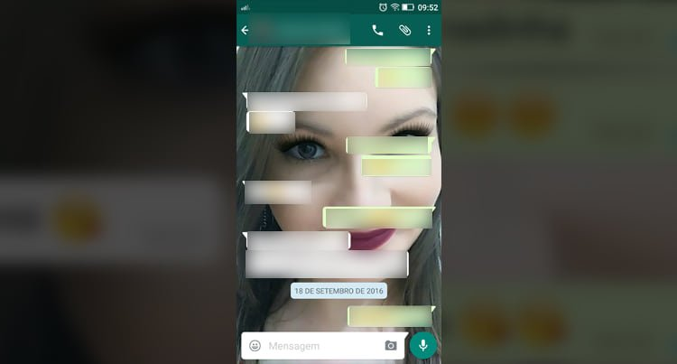 Como enviar vídeo pelo WhatsApp?