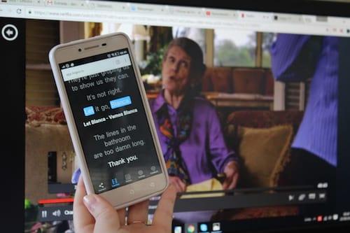 Aplicativo permite aprender inglês enquanto você assiste Netflix
