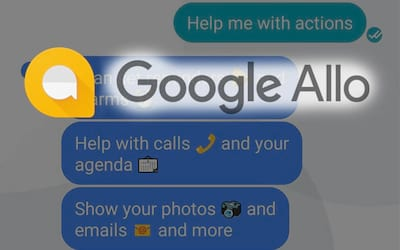Google Allo - Outro mensageiro solit�rio?