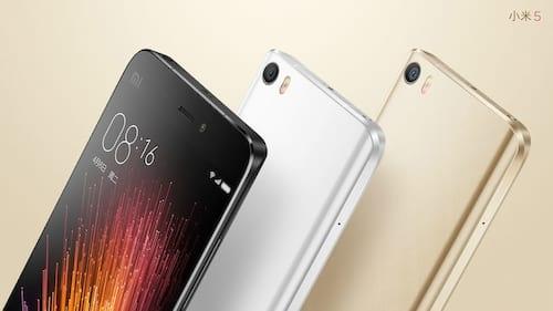 Xiaomi lança Mi 5s e Mi 5s Plus
