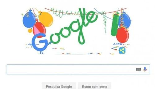 Google chega aos 18 anos e comemora com Doodle especial