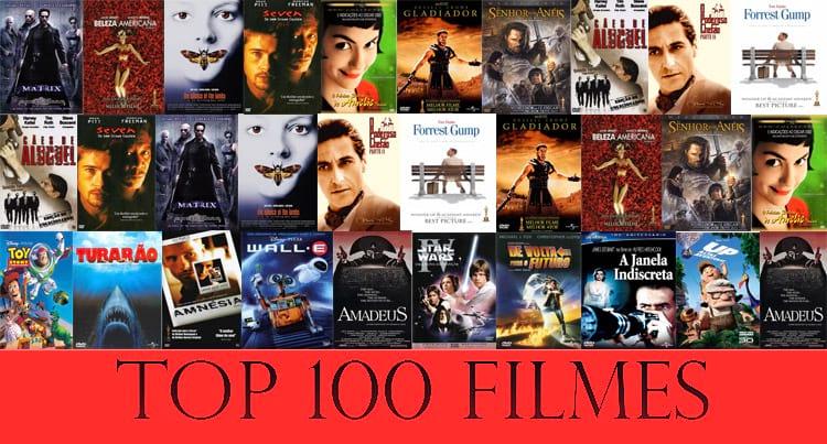 Os 100 melhores filmes de todos os tempos