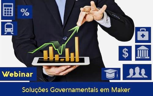 Webinar Maker: Soluções Governamentais em Maker
