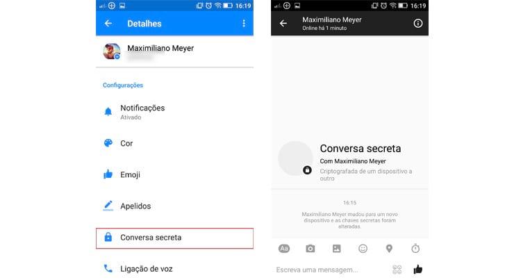 Como enviar mensagens secretas e autodestrutivas pelo Facebook Messenger