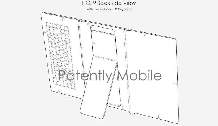 Samsung poderá lançar tablet dobrável com teclado integrado