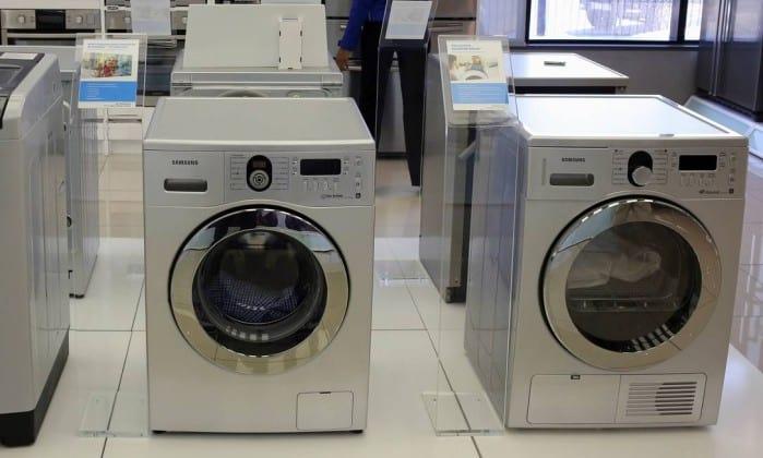 Samsung recebe notificação por explosões em máquinas de lavar roupa