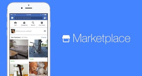 Marketplace do Facebook irá permitir a compra e venda entre usuários