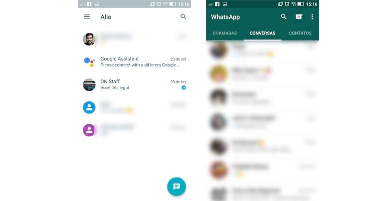 WhatsApp ou Allo: qual é o melhor mensageiro?