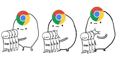 Com atualiza��o do Chrome, consumo de mem�ria RAM ir� diminuir em 50%