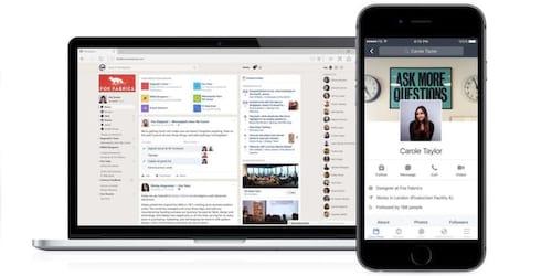 Facebook lança sua plataforma social para empresas