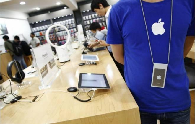 Funcion&aacute;rios da Apple estariam roubando <a onclick=