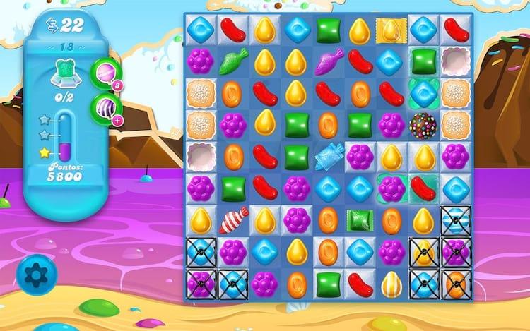 O famoso jogo possui mais de duas mil fases.