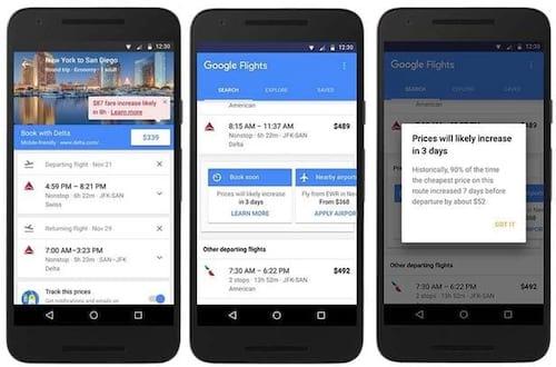 Ferramenta do Google avisa quando vale a pena comprar passagem