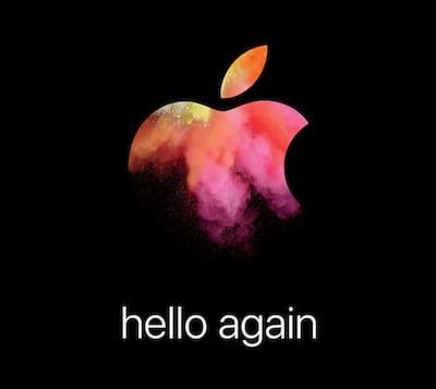 Apple marca evento para 27 de outubro para apresentar novo MacBook